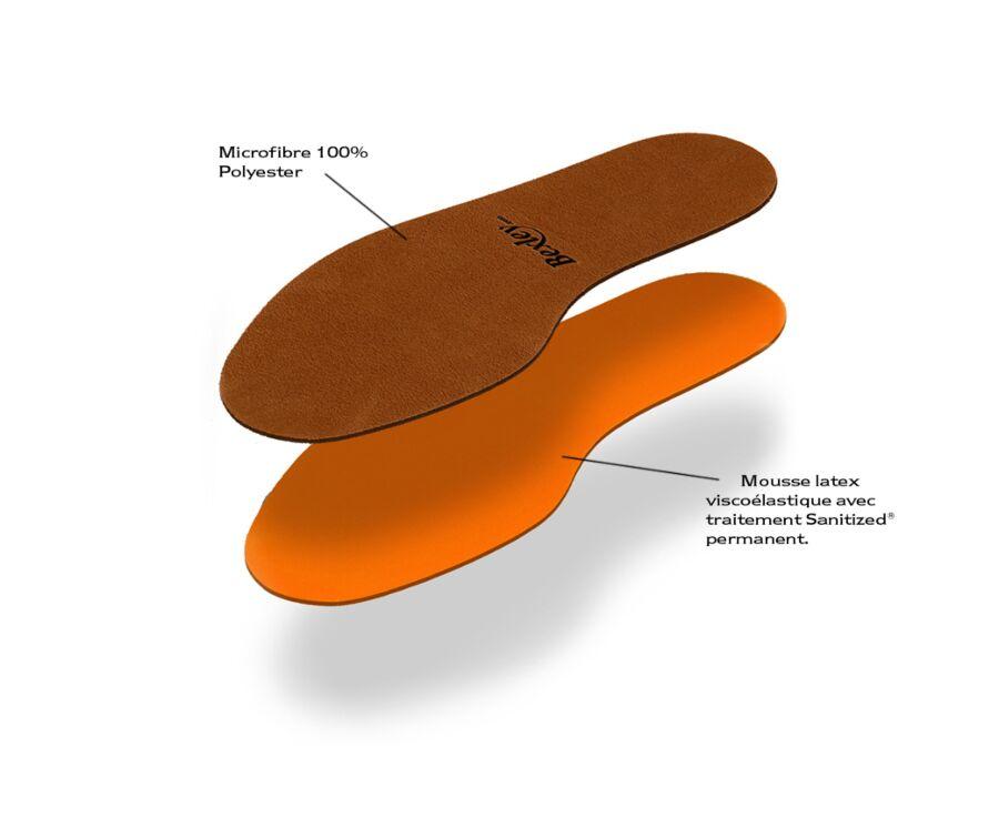 Comfort Latex Insole Orange