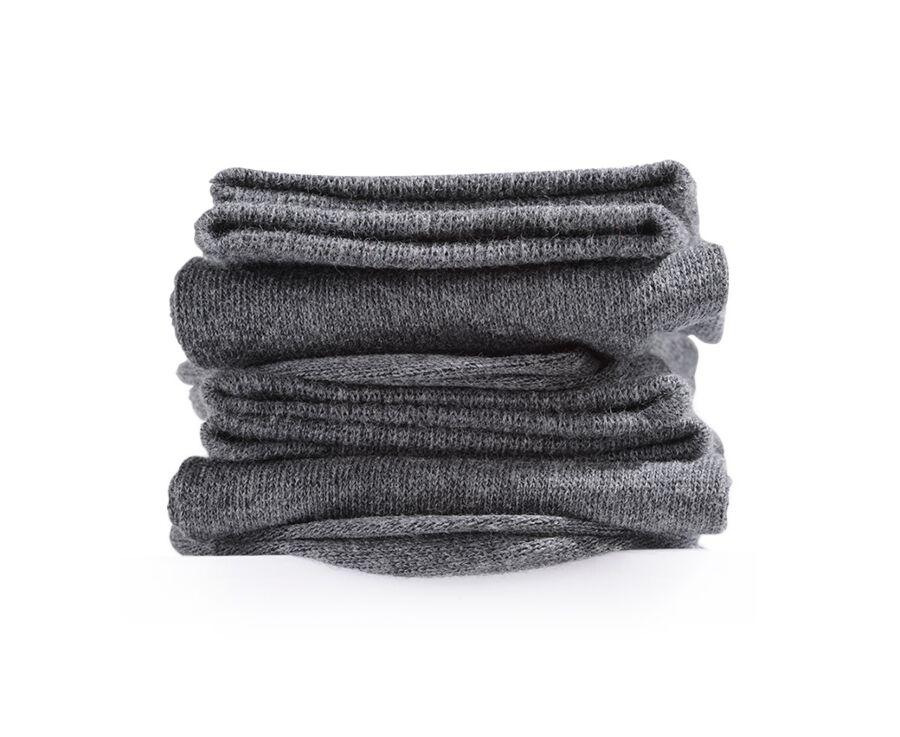 Light Cotton Socks Anthracite