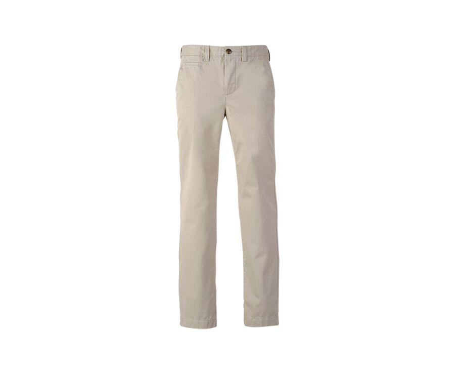 Pantalon chino homme Beige Clair - JAKE