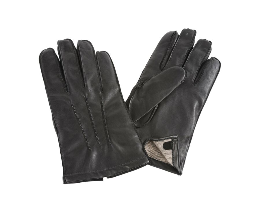 Lamb Gloves Black