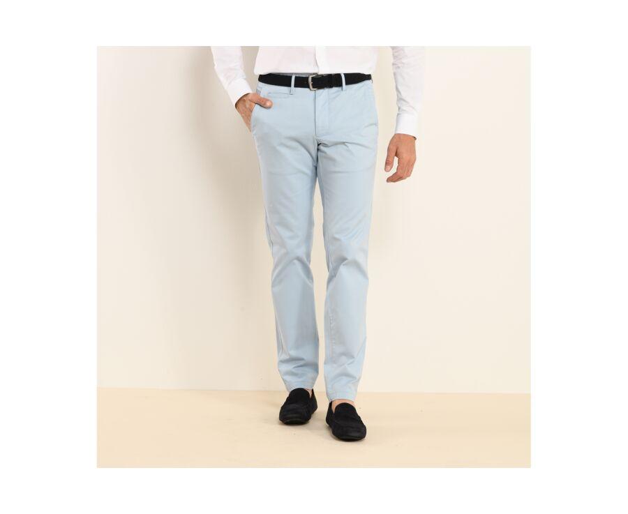 Pantalon chino homme Bleu Clair - KYRK