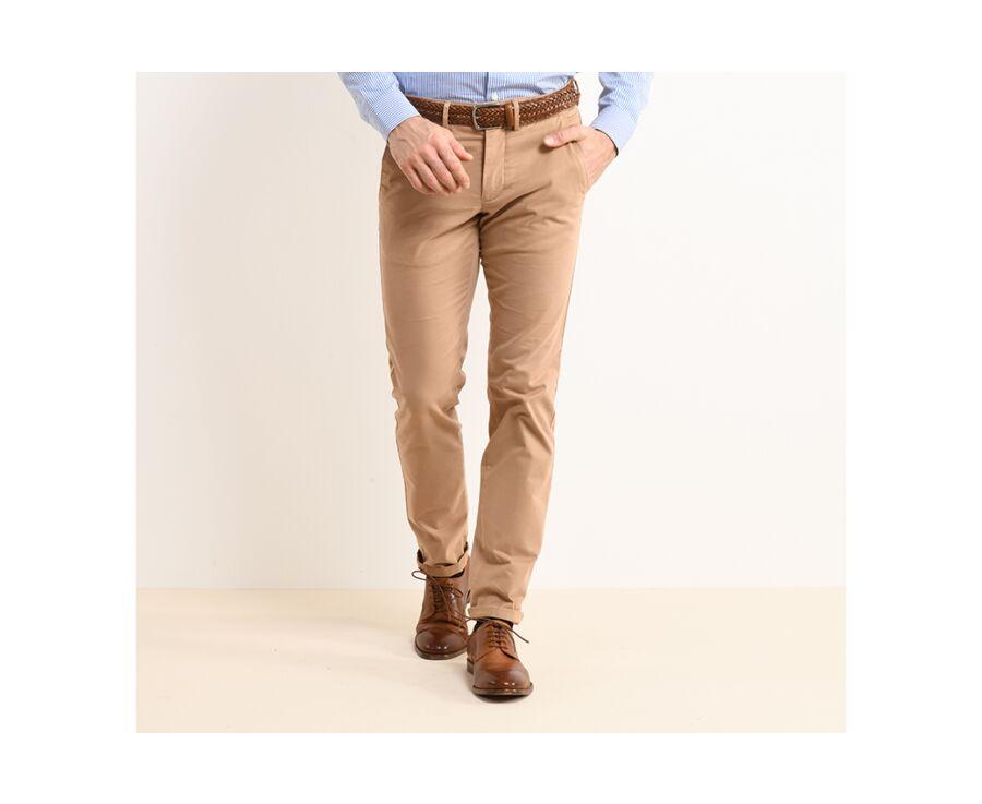 Pantalon chino homme Camel - KYRK