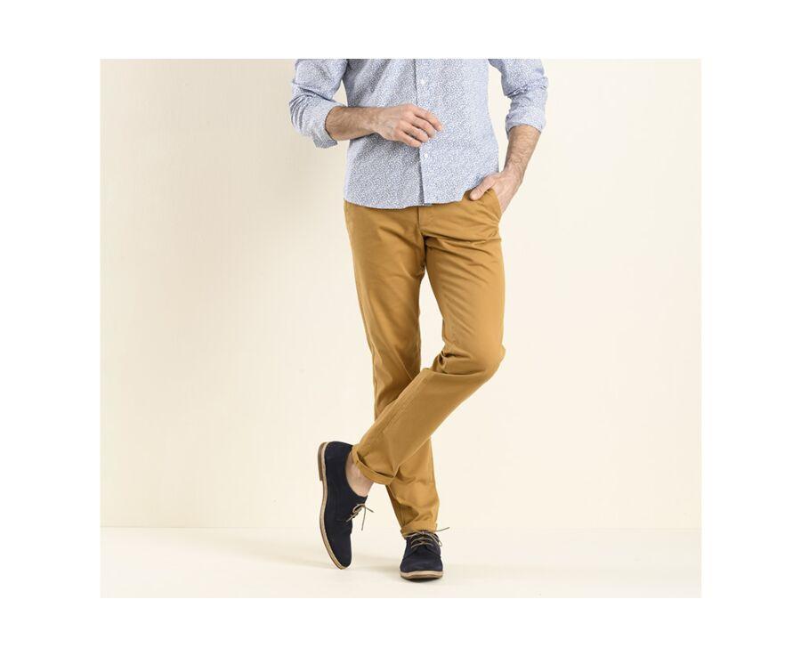 Pantalon chino homme Tabac - KYRK