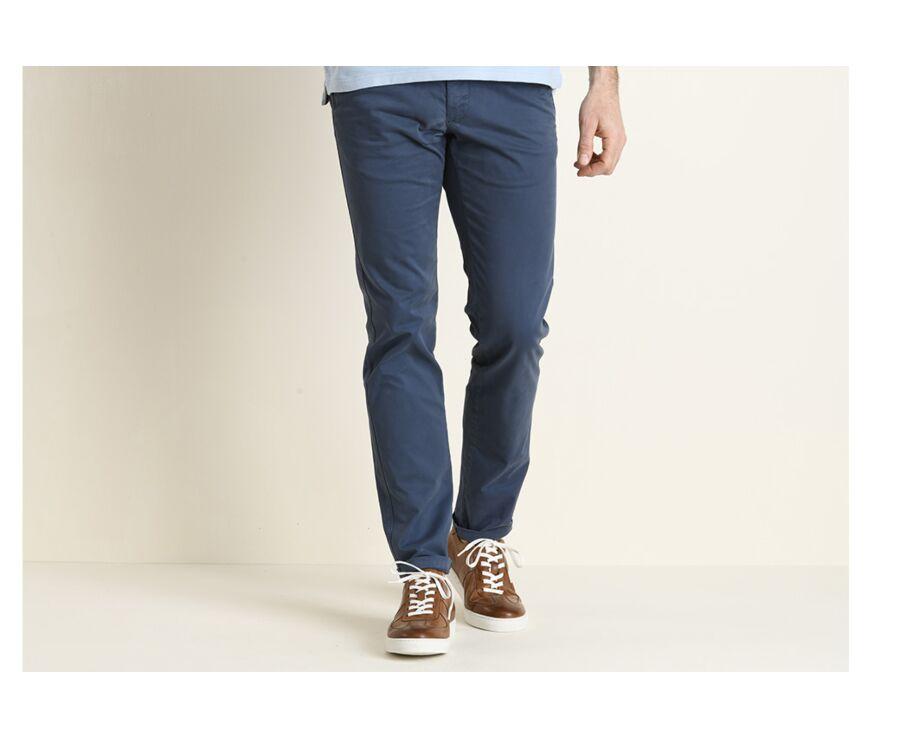 Pantalon chino homme Bleu Franc - KYRK