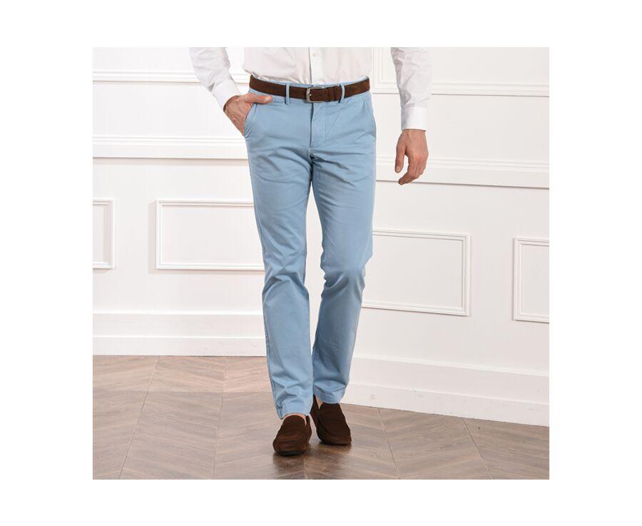 Pantalon chino homme Bleu Pâle - KYRK