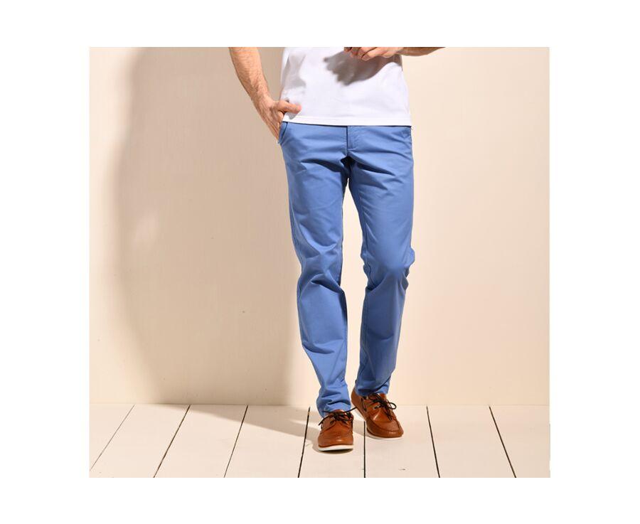 Pantalon chino homme Bleu moyen II - KYRK