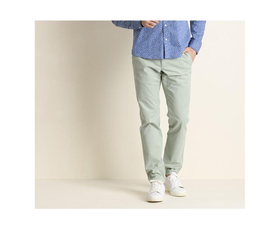 Pantalon chino homme Menthe - KYRK