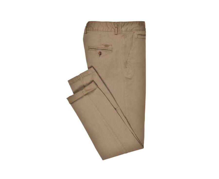 Pantalon chino homme Taupe Foncé - KYRK