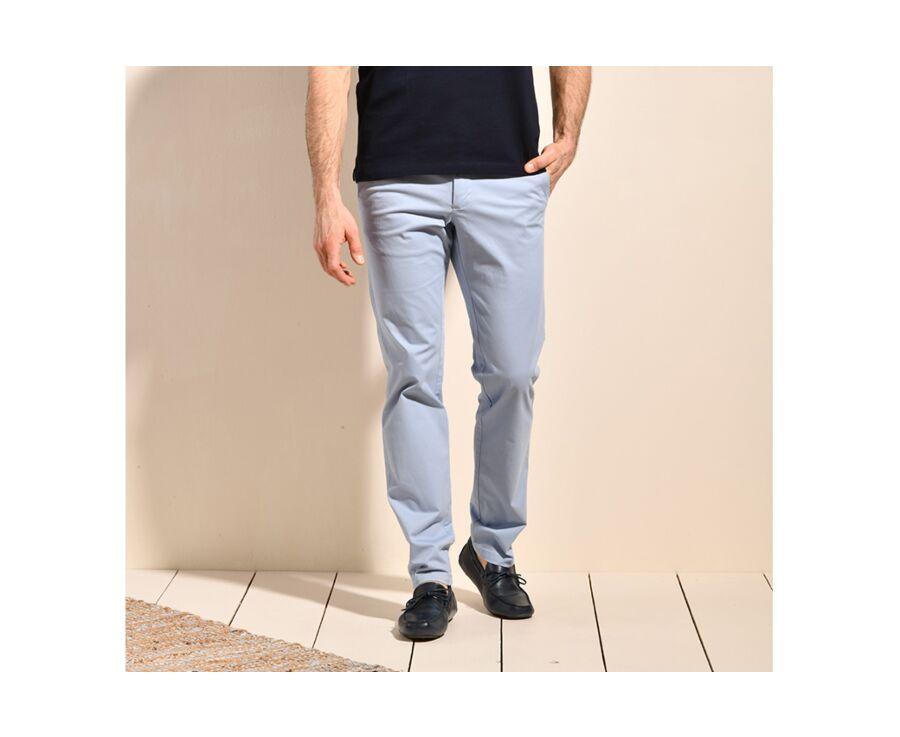 Pantalon chino homme Bleu Pâle II - KYRK
