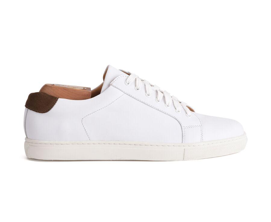 Sneakers cuir homme Blanc - INGLEWOOD