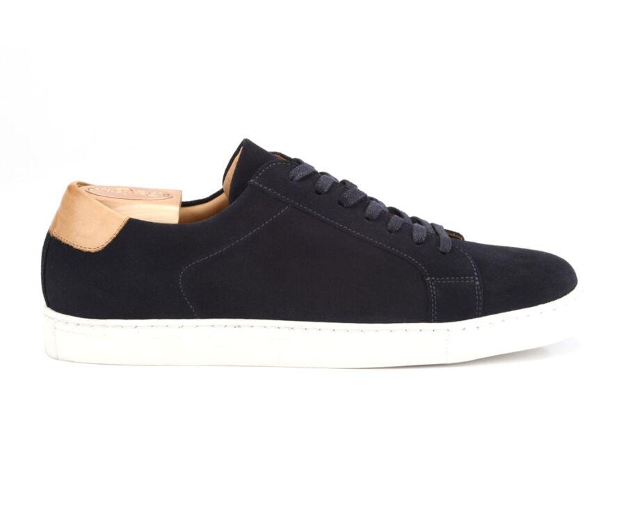 Sneakers homme Velours Marine - INGLEWOOD