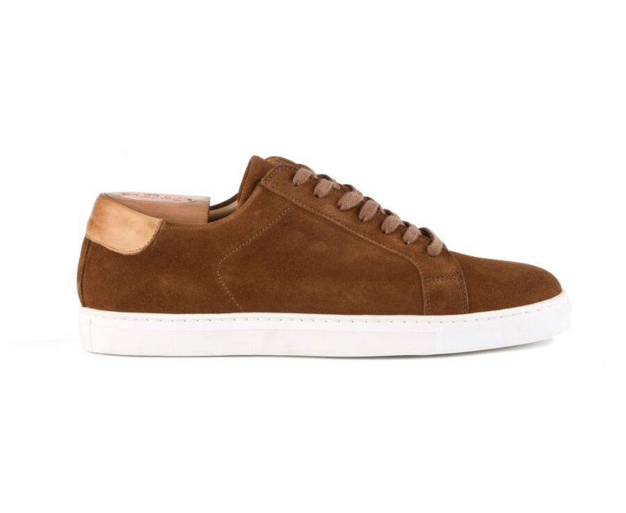 Sneakers homme cuir Velours Chamois - INGLEWOOD