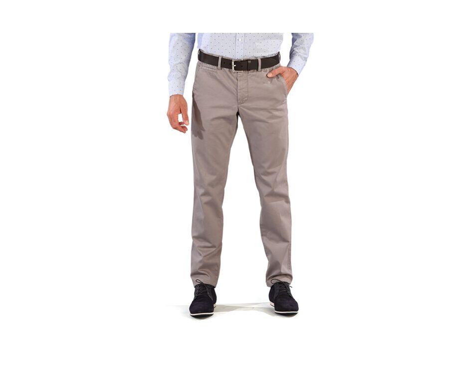 Pantalon chino homme Gris Moyen - NIGEL II