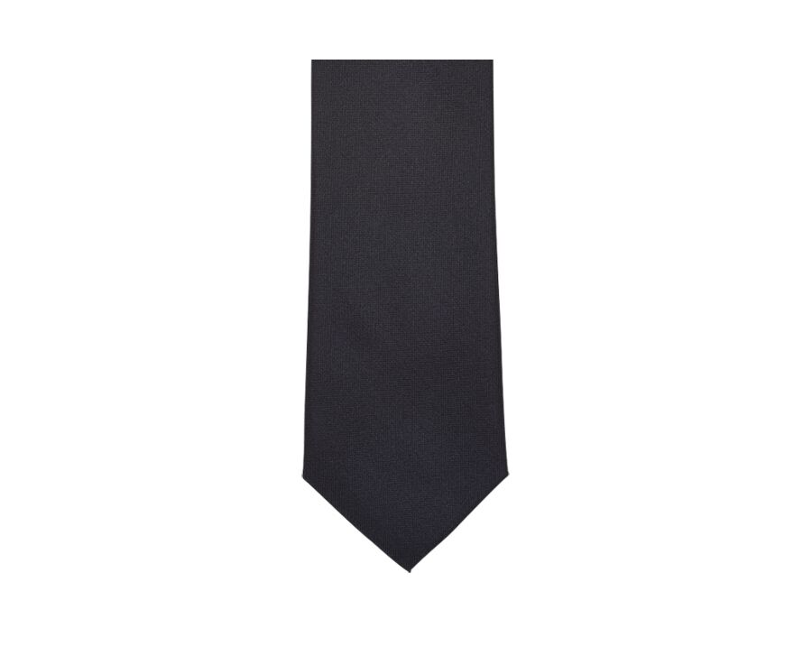 Cravate Soie Unie marine