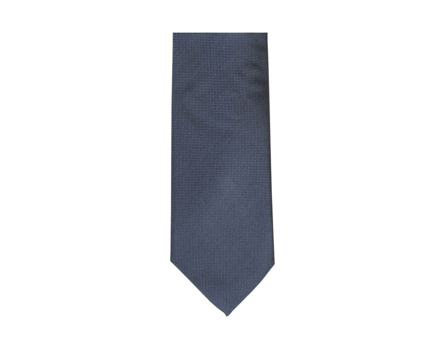 Silk Tie Petrol Blue