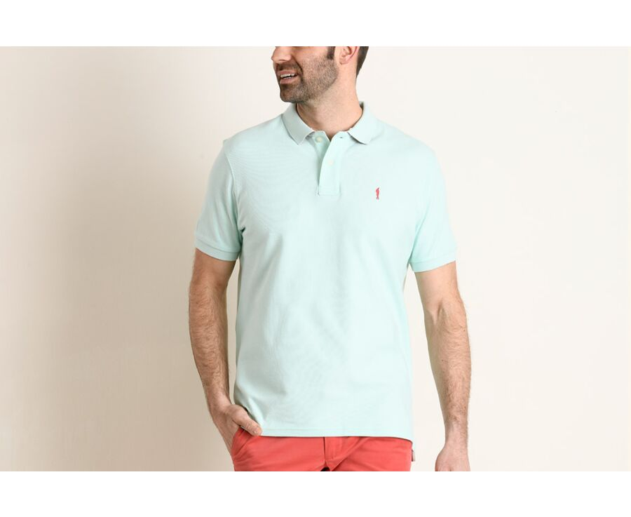 Polo Vert Menthe homme - ANDY II