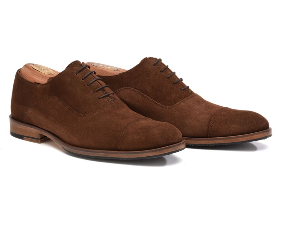 Brackley Patin Havana Suede