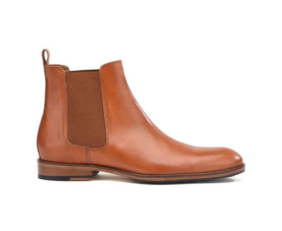 Chelsea boots homme Gold Patiné - DAWSON II PATIN