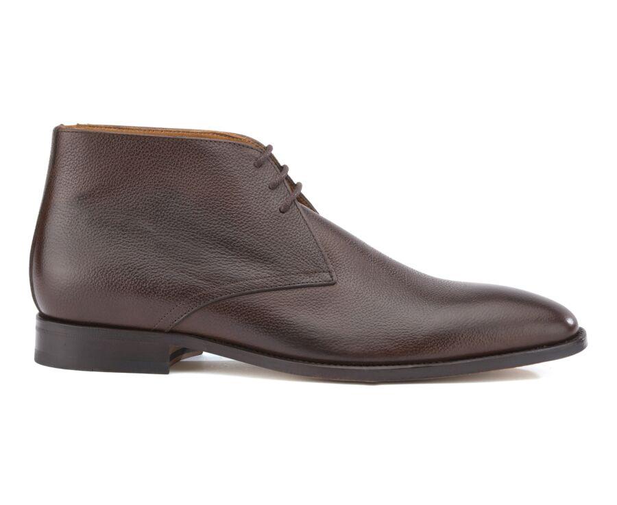Chukka boots homme Chocolat Grainé - CAMDEN II