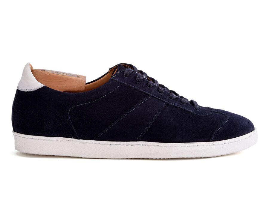 Sneakers homme Velours Marine - BARMERA
