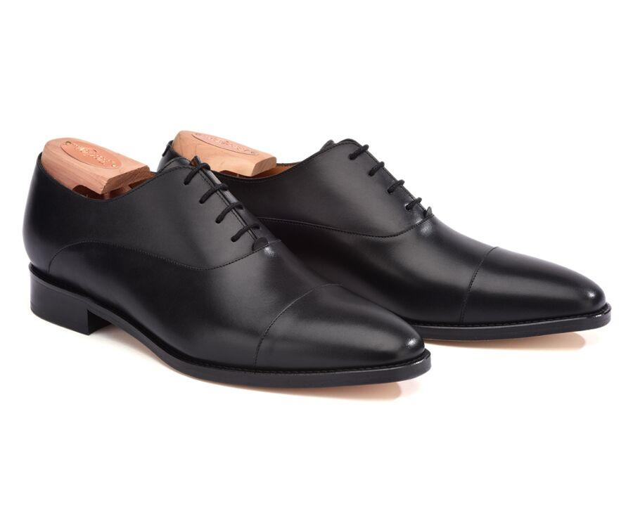 Swan Black Men's dress shoes | Bexley