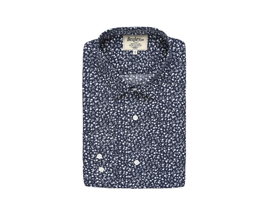 Mathurin Navy and White