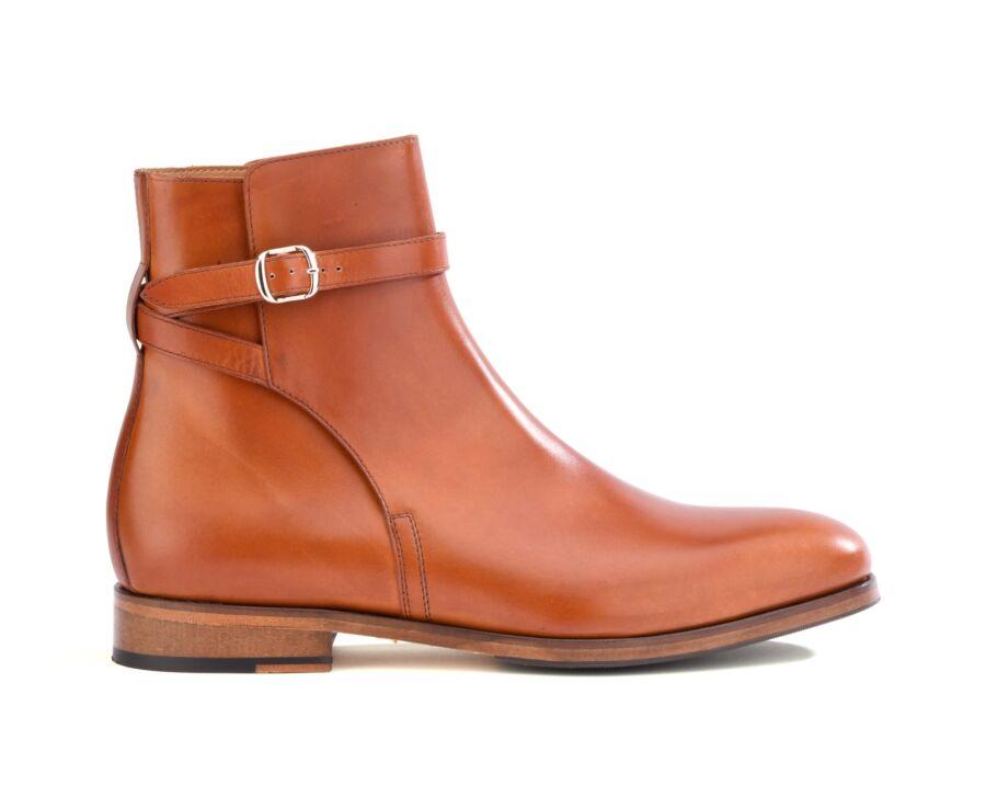 Boots Jodhpur homme Gold - WHITEHALL PATIN