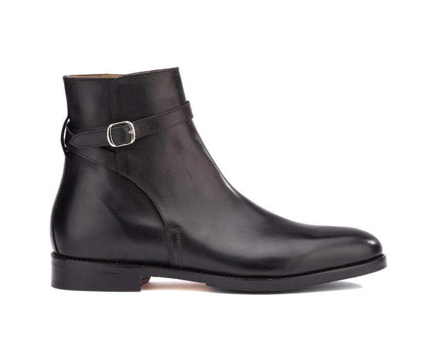 Boots Jodhpur homme Noir - WHITEHALL PATIN