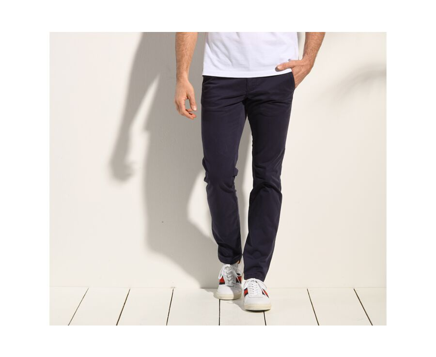 Pantalon chino homme Navy - KEATON