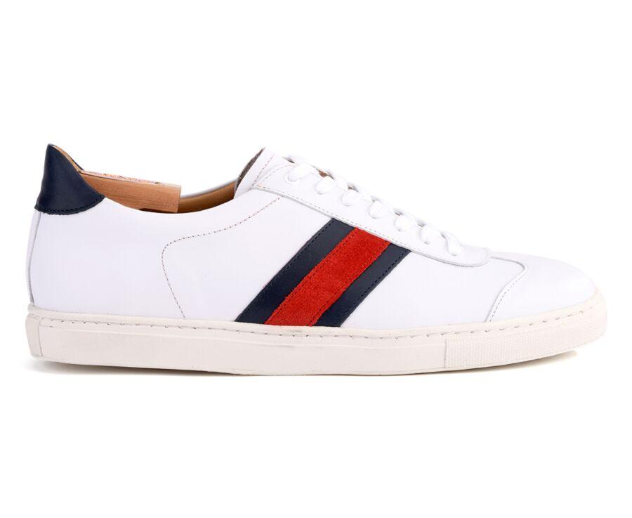 Sneakers homme cuir Blanc - MAYWOOD