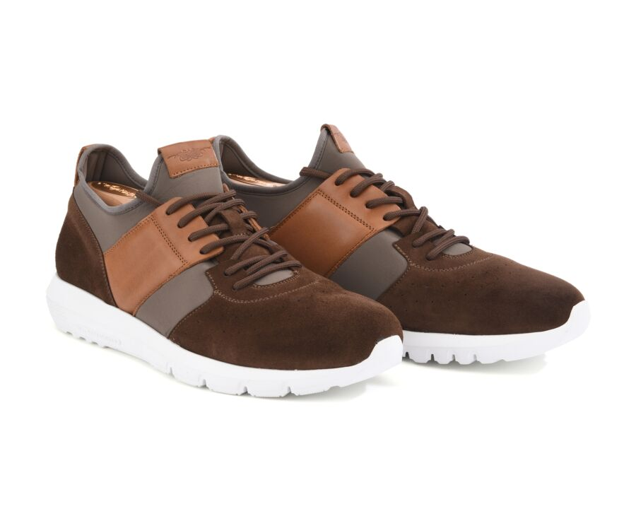 Sneakers homme Marron - NAROOMA