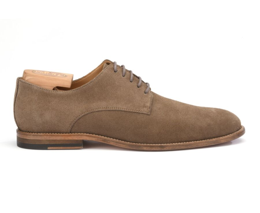 Hilperton Light Taupe Suede