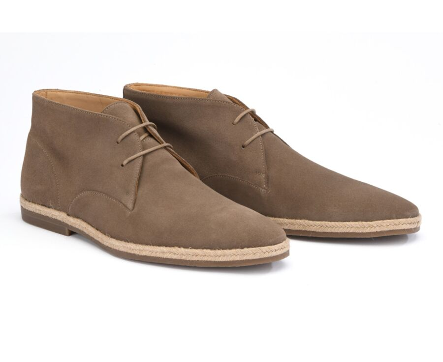 Chukka boot homme Velours Taupe - VENASQUE