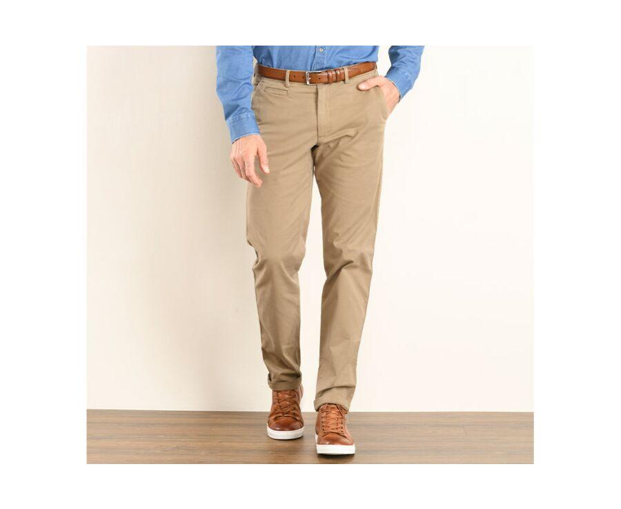 Pantalon chino homme Bronze - JERRY II