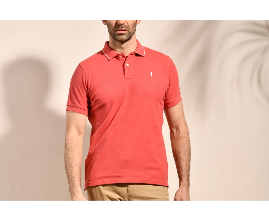 Polo Orange Sanguine homme - RYDGE