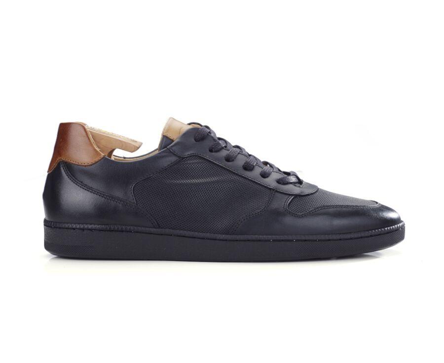 Sneakers homme cuir noir - BORONIA