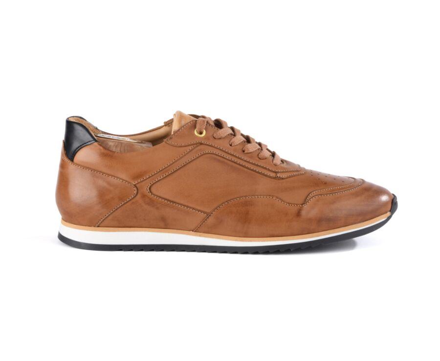 Sneakers homme Gold Patiné - WAYGARA