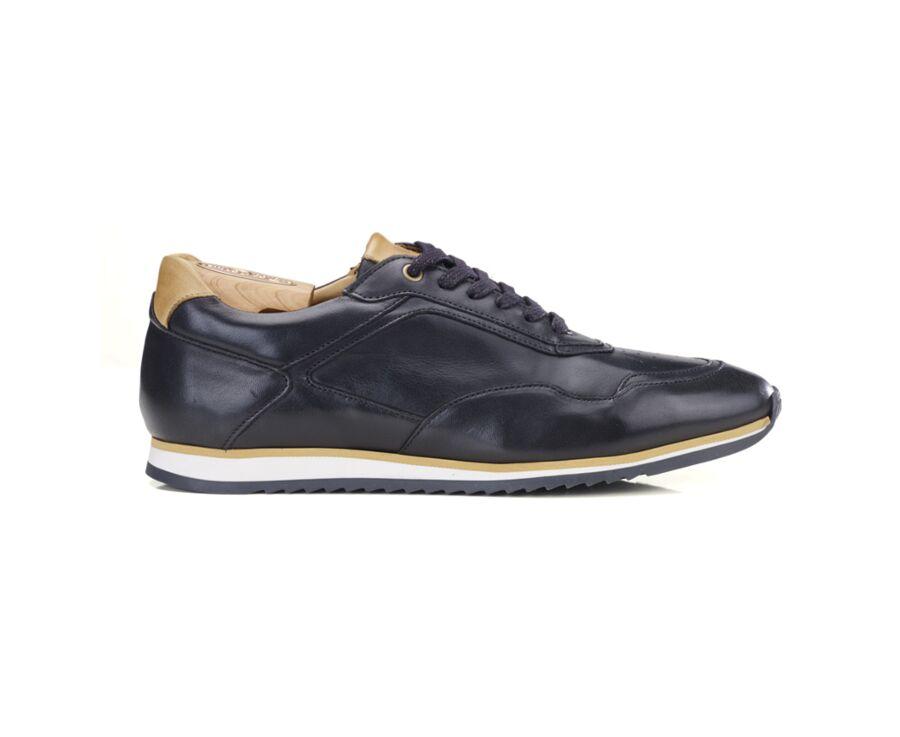 Sneakers homme Noir Patiné - WAYGARA