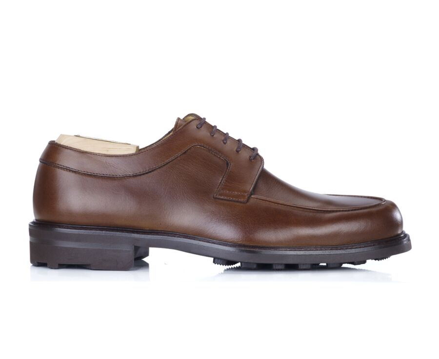 Derby homme Cognac - HUDSON GOMME COUNTRY