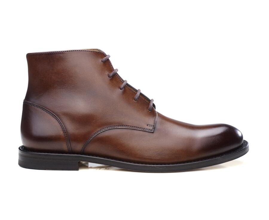 Boots homme Chocolat patiné - KINSHAM