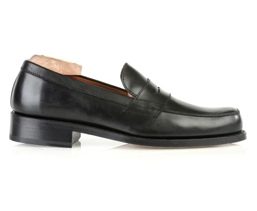Mocassin homme cuir Noir - WEMBLEY CLASSIC