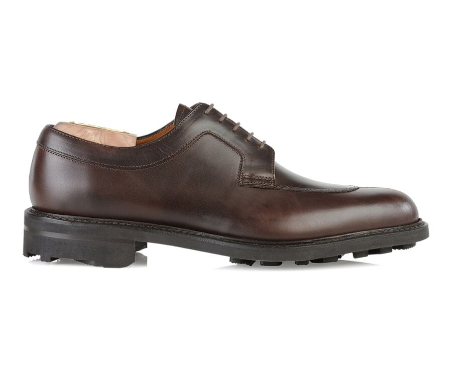 Derbies homme Chocolat semelle gomme - KENT GOMME COUNTRY