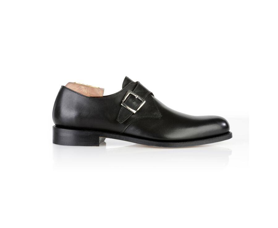 Chaussures homme à boucle Noir - BLOOMINGDALE SILVER