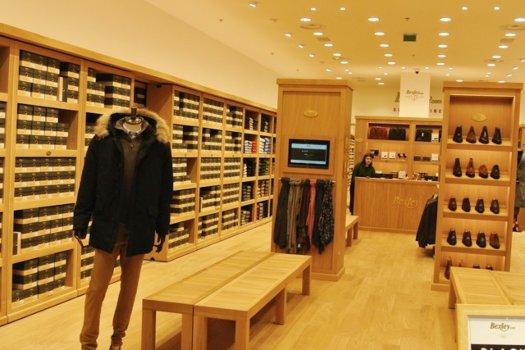 Intérieur boutique bexley