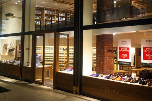 Boutique Bruxelles vitrine