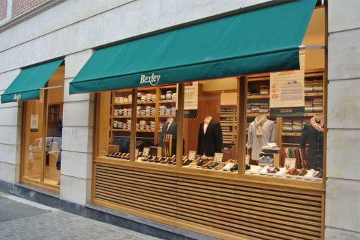 Boutique Bexley Lille Vitrine