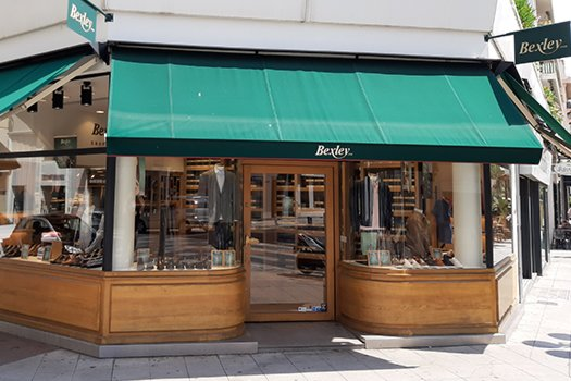 Boutique Bexley Nice vitrine