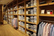 Boutique Bexley Paris Boétie intérieur