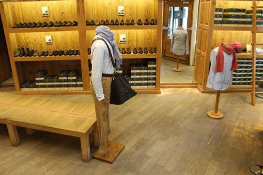 Boutique Bexley Paris Henri IV intérieur