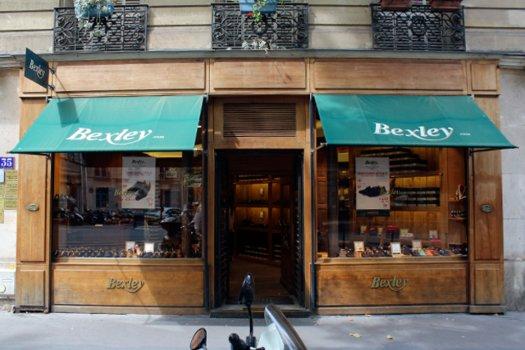 Boutique Bexley Paris Henri IV vitrine